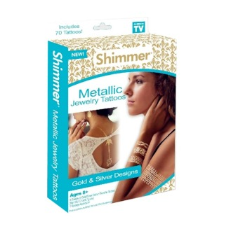 Harga Shimmer Metallic Jewelry Tattoos