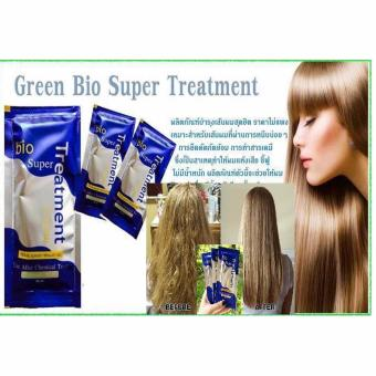 GREEN BIO SUPER TREATMENT CREAM INTENSIVE HAIR DAMAGE DRY HAIR LOSS 3 sachets Price Philippines