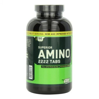 Optimum Nutrition Superior Amino 2222 Tablets, 160 Count Price Philippines
