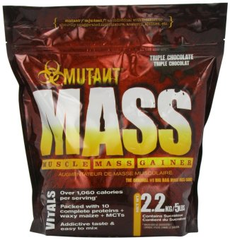 Harga Mutant Mass - Muscle Mass Gainer 5 Pounds (Triple Chocolate)