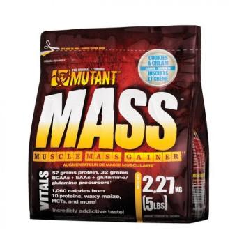 Harga Mutant Mass Muscle Mass Gainer, 5lbs (Triple Chocolate)
