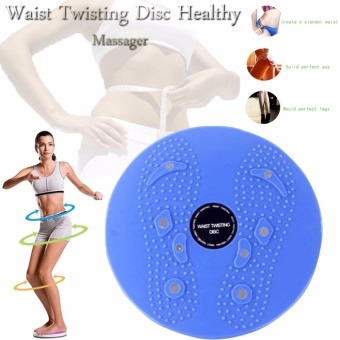 Harga Waist Twisting Disc Healthy Massager (Blue)