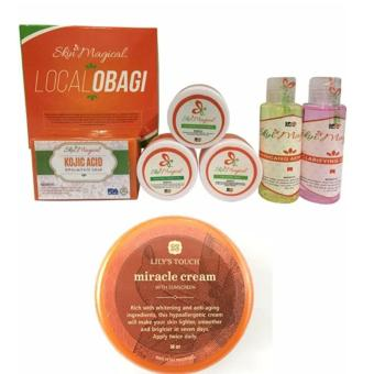 Skin Magical Local Obagi Set and Miracle Cream 50ml Bundle Price Philippines
