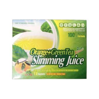 Orange and Green Tea Slimming Juice