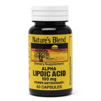 Nature's Blend Alpha Lipoic Acid 100mg Capsule Bottle of 60 Price Philippines