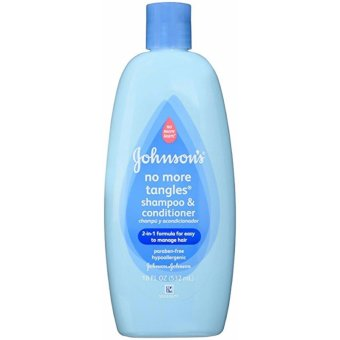 Harga Johnson & Johnson Baby Shampoo & Conditioner with 2-in-1 Formula 18 ounce