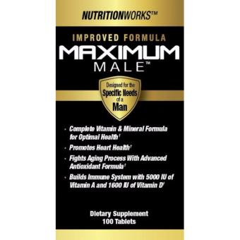 Harga Nutrition Works Maximum Male 100 Tablets