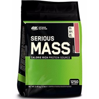 Harga Optimum Nutrition Serious Mass 12lbs (Strawberry)
