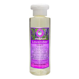 Harga Milea Lavender Relaxing Massage Oil 120ml