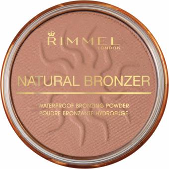 Harga Rimmel London Natural Bronzer Waterproof Bronzing Powder - 021 SUN LIGHT