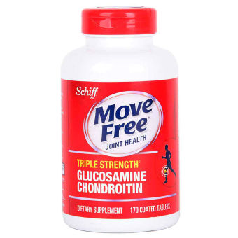 Harga Schiff Move Free Glucosamine Chondroitin Tablet Bottle of 170