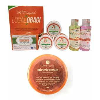 Skin Magical Local Obagi Set + Lily's Touch Miracle Cream 50ml Price Philippines