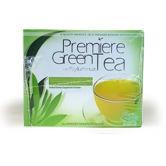 JC Premiere Green Tea 7g Sachet Box of 10 Price Philippines