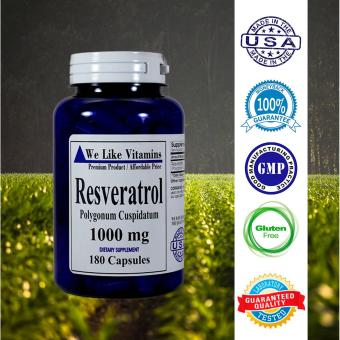 Harga We Like Vitamins Resveratrol 1000mg 180 Capsules 3 Month Supply