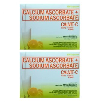 JC Pemiere Calcium Carbonate + Sodium Carbonate (Calvit-C) 100(500mg) capsules Set of 2 Price Philippines