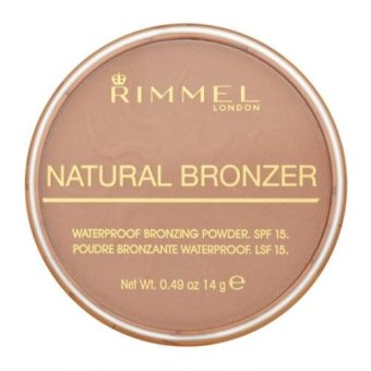 Harga RIMMEL Waterproof Natural Bronzer ~ SUN LIGHT