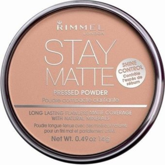 Harga Rimmel London Stay Matte Pressed Powder 14g (018 Creamy Beige)