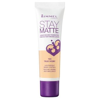 Harga Rimmel Stay Matte Liquid Mousse Foundation (True Ivory)