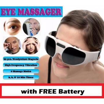 RELAX EYE MASSAGER With FREE Battery Price Philippines