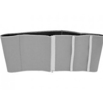 Adjustable Slimming Exercise Belt Binder (Gray) Price Philippines