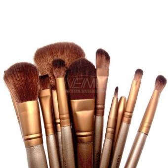 Harga QF Naked3 12 pcs Professional Power Makeup Brushes