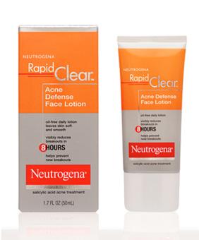 Neutrogena Rapid Clear Acne Defense Face Lotion 50ml Price Philippines
