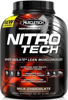 Harga Muscletech Nitro-Tech Elite Series Whey Protein 4lbs