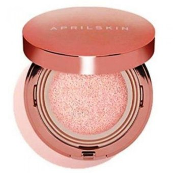 Harga April Skin Magic Snow Cushion Pink #01 Korean Cosmetics