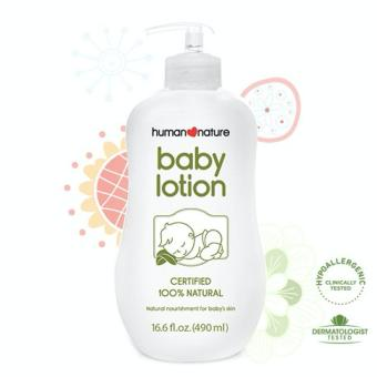 Harga Human Heart Nature Natural Baby Lotion 490ml