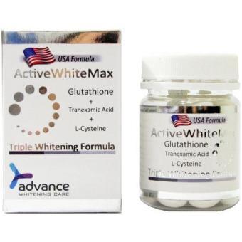 Active White Max Triple Whitening Complex Glutathione Skin Whitening Softgels FREE Glutathione Precursor Complex