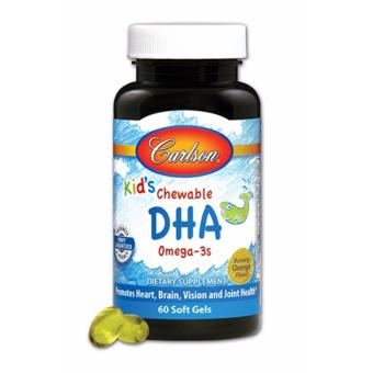 Harga Carlson Kids Chewable DHA 60 Softgels