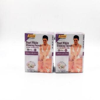 Harga Extra pearl white slimming capsules 30's