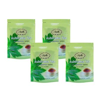 Harga Adelle Ashitaba Tea with Chalcone in Ziplock 2g 10's Teabags Pack of 4
