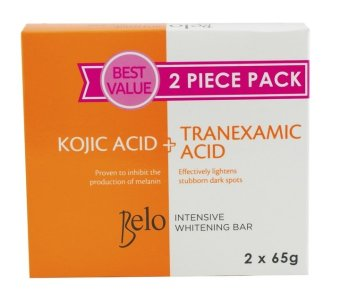 Belo Intensive Whitening (Kojic+Tranexamic) Bar 65g Pack of 2 Price Philippines
