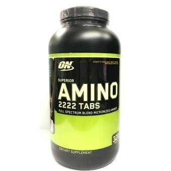 Optimum Nutrition Superior Amino 2222 Tablets Bottle of 320 Price Philippines
