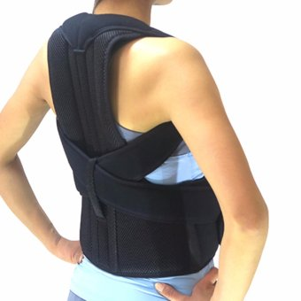 (Size XL) Adjustable Clavicle Posture Posture Back Corrector Belt Straightener Band Brace Shoulder Braces & Supports For Men And Women - intl Price Philippines