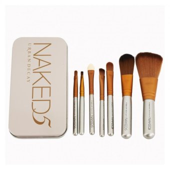 Harga Naked5 Professional Makeup Brush Set Makeup Tool 7pcs set