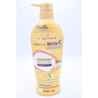 A Bonne Miracle White C Milk Lotion Natural AHA Honey 500ml Price Philippines