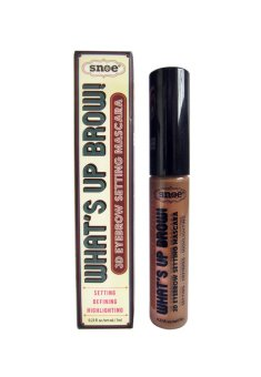 Harga What's Up Brow 3D Eyebrow Setting Mascara Khaki 7ml