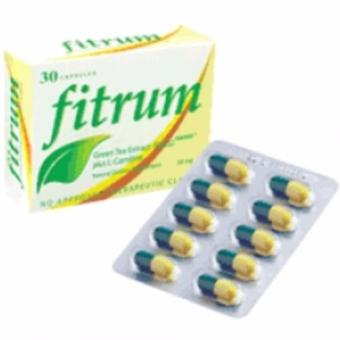 Harga Fitrum Weight Loss Dietary Supplement 30caps