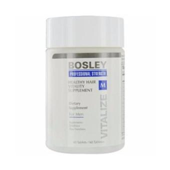 Harga BOSLEY by HEALTHY HAIR VITALITY SUPPLIMENT FOR MEN 60 TABLETS BOSLEY by HEALTHY HAIR VITALITY SUP