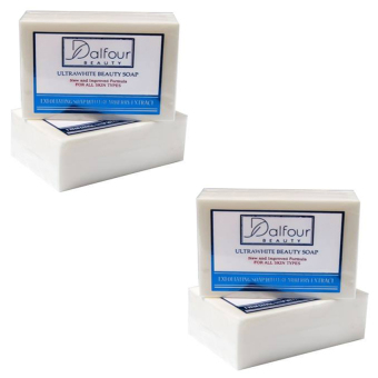 Harga Dalfour Beauty Ultrawhite Whitening Beauty Soap, Pack of 2