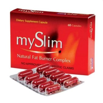 MySlim Natural Fat Burner Complex 60 Slimming Capsules Price Philippines