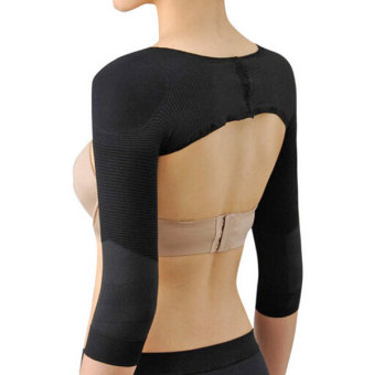 Harga Fantasy an Arm Slimming Compression Wrap with Posture Support (Black)