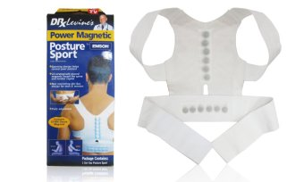 Power Magnetic Posture Support (White) - S Price Philippines