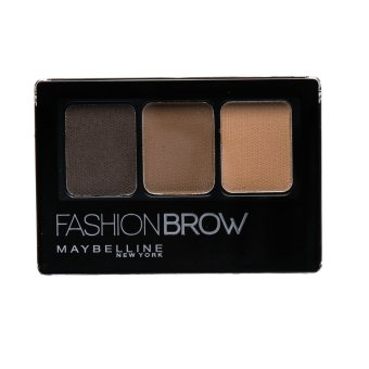Harga Maybelline Fashion Brow Palette - Dark Brown