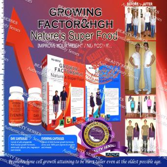 Harga Nu-Beta Growing Factor & HGH Nature's Super Food For Girl Box Of 30 Tablets