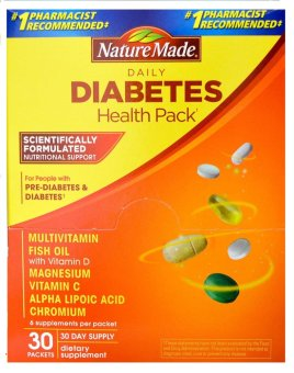 Nature Made Daily Diabetes Health Pack Price Philippines