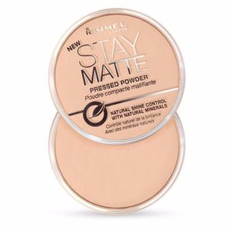 Harga Rimmel London Stay Matte Pressed Powder 14g (Transparent 001)