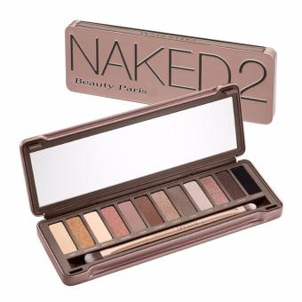 Harga Beauty Paris Naked 2 palette 12 colors make-up set